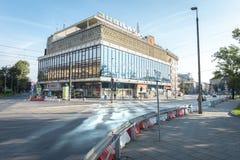 Modern building in the center of Krakow Stock Image