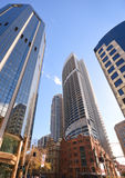 Modern Building in Central Business of Sydney Royalty Free Stock Photo