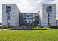 Modern building in cern Royalty Free Stock Images