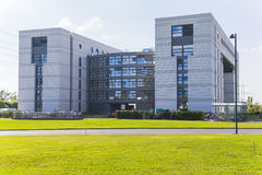 Modern building in cern Royalty Free Stock Photo