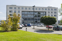 Modern building in cern Royalty Free Stock Photos