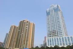 Modern building in Chengdu Royalty Free Stock Photos