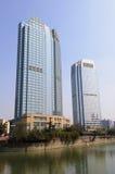 Modern building in Chengdu Royalty Free Stock Image