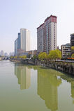 Modern building in Chengdu Royalty Free Stock Images