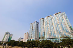 Modern building in Chengdu Royalty Free Stock Photography