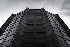 Modern building constructed from glass and steel Stock Photos