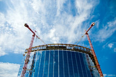 Modern building construction Stock Images