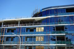 Modern Building Construction Stock Photo