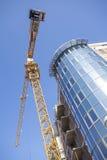 Modern building construction site Stock Photo