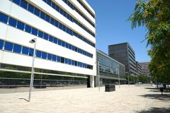 Modern building, corporation Royalty Free Stock Photography