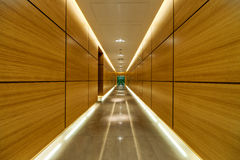 Modern building corridor Royalty Free Stock Images