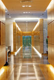 Modern building corridor Royalty Free Stock Photography
