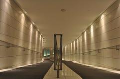 Modern building corridor Royalty Free Stock Photo
