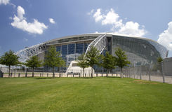 Modern building cowboy stadium Royalty Free Stock Photo