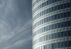 Modern building, curtain wall Royalty Free Stock Image