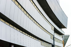 Modern building with curve fron face Stock Photo