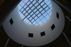 Modern Building Design 3. A Skylight in a Modern building Royalty Free Stock Photo