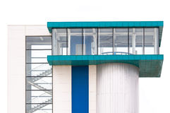 Modern building detail Royalty Free Stock Images