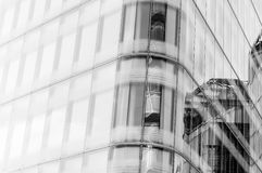 Modern building detail Royalty Free Stock Photography