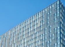 Modern building detail. Detail of a modern glass building Stock Photos