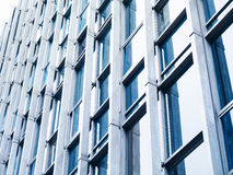 Modern Building detail Steel glass facade Exterior architecture Royalty Free Stock Photos