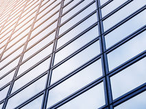 Modern Building detail Steel glass facade Exterior architecture Royalty Free Stock Photography