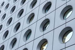 Modern Building Details. Office building wall and windows in details Stock Images