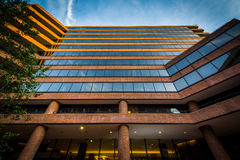 Modern building in downtown Washington, DC. Royalty Free Stock Image
