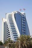 Modern Building, Dubai, UAE. Image of a modern building at Jumeirah, Dubai, United Arab Emirates Stock Photos