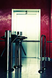 Modern building elevator Stock Image