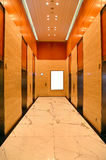 Modern building elevator lobby Royalty Free Stock Photography