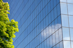 Modern building exterior. Exterior architecture of a modern building Royalty Free Stock Photos