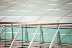 Modern building exterior . Detail of modern architecture Royalty Free Stock Image
