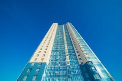 Modern building exterior Royalty Free Stock Photography