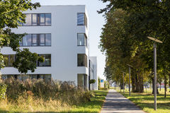 Modern building exterior Royalty Free Stock Images
