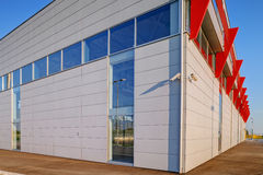 Modern building in exterior Stock Photography