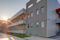 Modern building in exterior Stock Image