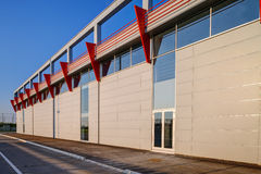 Modern building in exterior Royalty Free Stock Photography