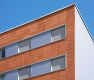 Modern building facade with ceramic coating Royalty Free Stock Photography