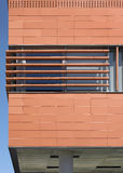 Modern building facade with ceramic coating Royalty Free Stock Photo