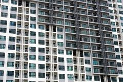 A modern building facade in Pattaya city royalty free stock photography