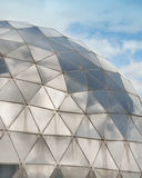 Modern building facade with sphere structure Stock Photo