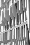 Modern building facade structure detail in black and white Stock Images