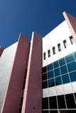 Modern building facade wall Royalty Free Stock Photo