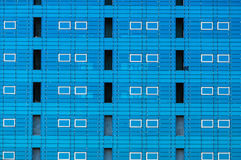 Modern building facade windows Royalty Free Stock Photo