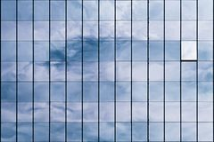 Free Modern Building Facade With Reflections. Royalty Free Stock Images - 111658649