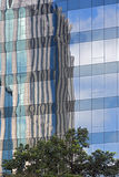 Modern building in Faria Lima Avenue, in Sao Paulo Royalty Free Stock Image