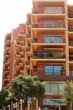 Modern building in Figueres, Spain Stock Photo