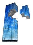 Modern Building, Fragment royalty free illustration