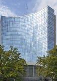 Modern building in geneva Royalty Free Stock Photo
